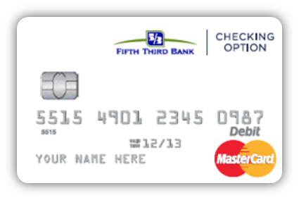 Fifth Third Bank National Association Banking Card